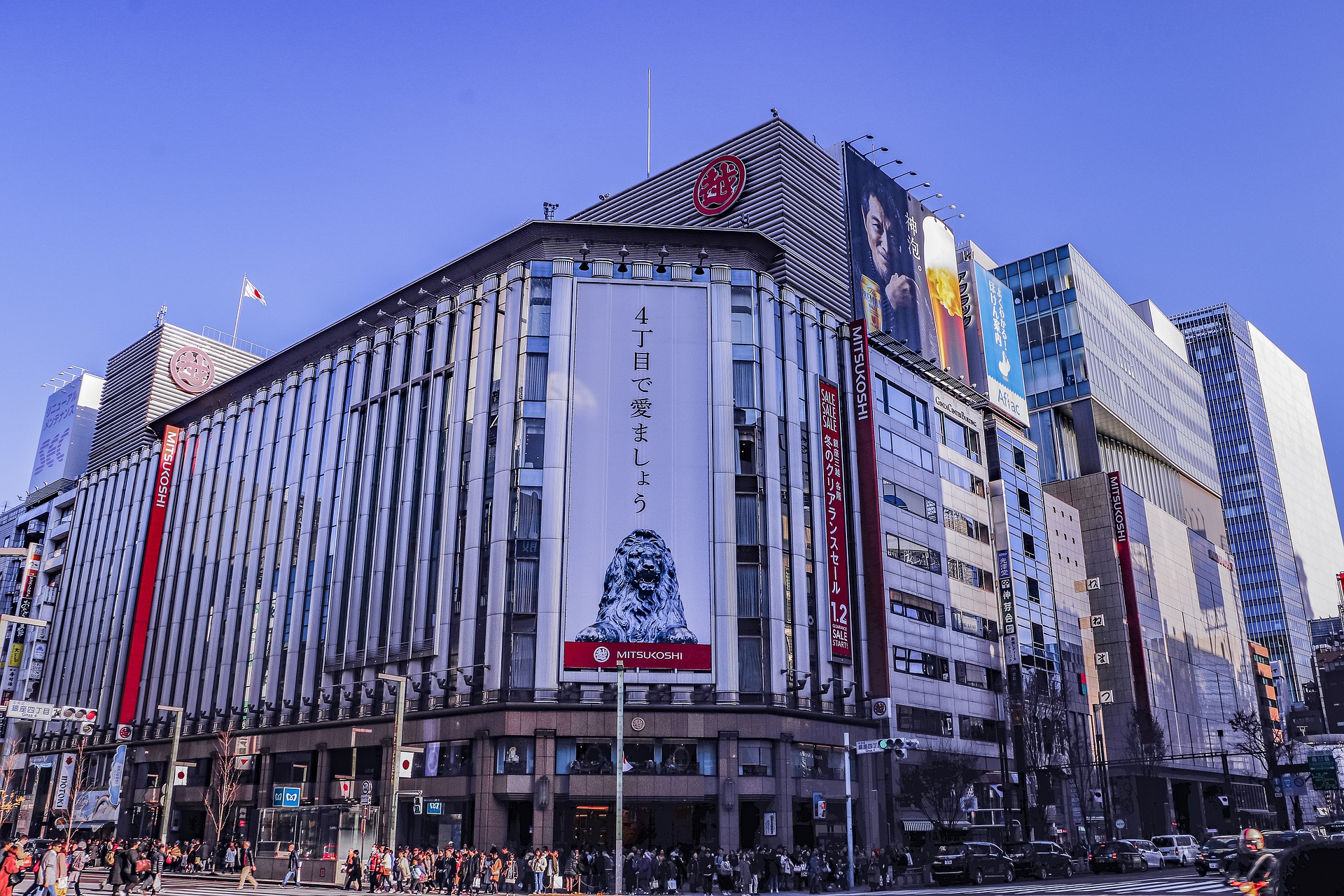MitsukoshiGinza_銀座三越